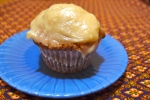 Carrot Cake Cupcakes with Maple-Syrup Frosting