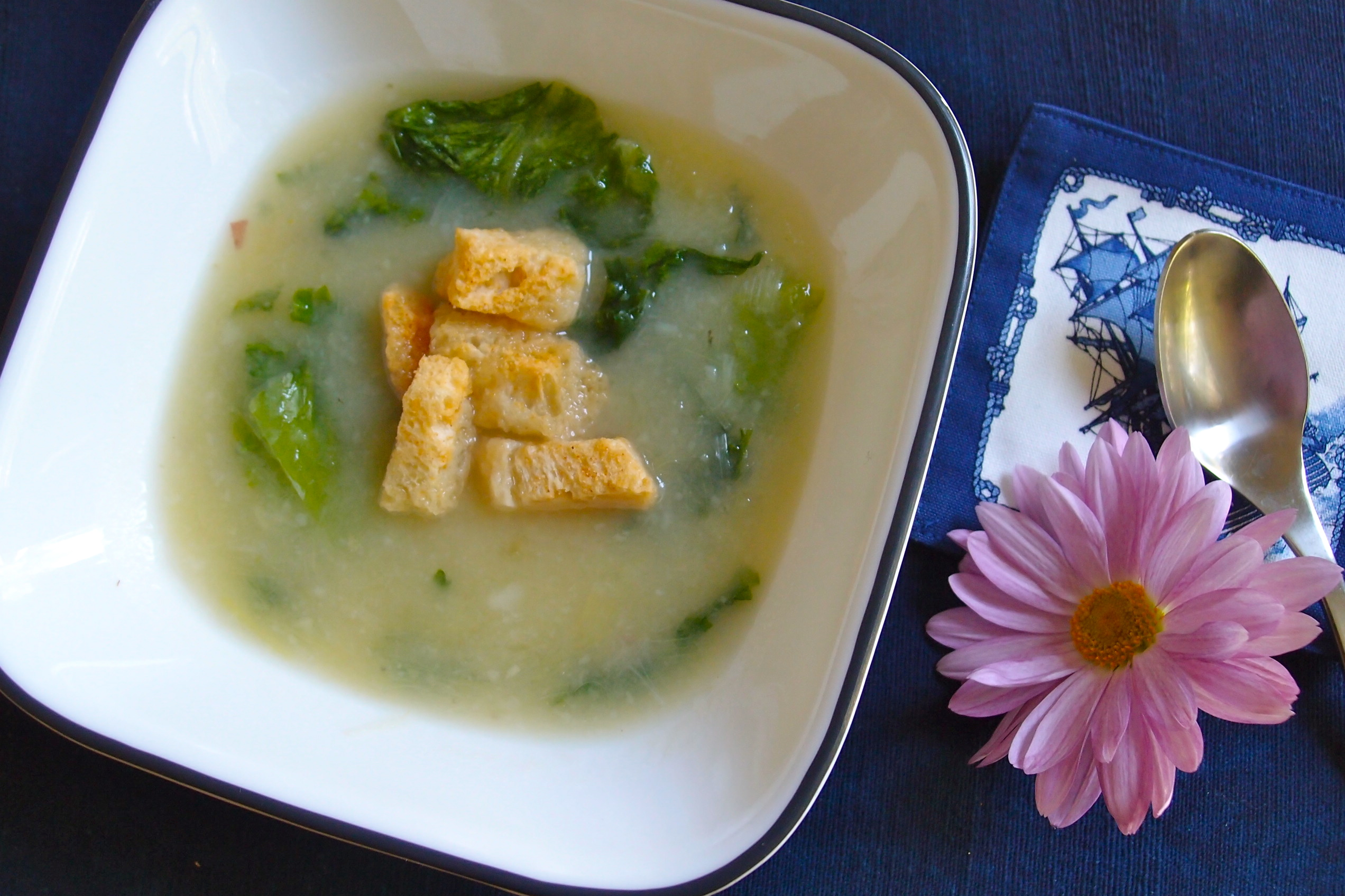 Vichyssoise-French Potato Leek Soup