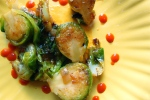 Sriracha-Maple Brussels Sprouts